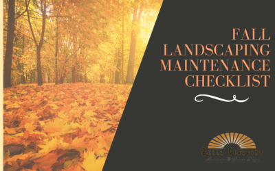 Fall Landscaping Maintenance Checklist