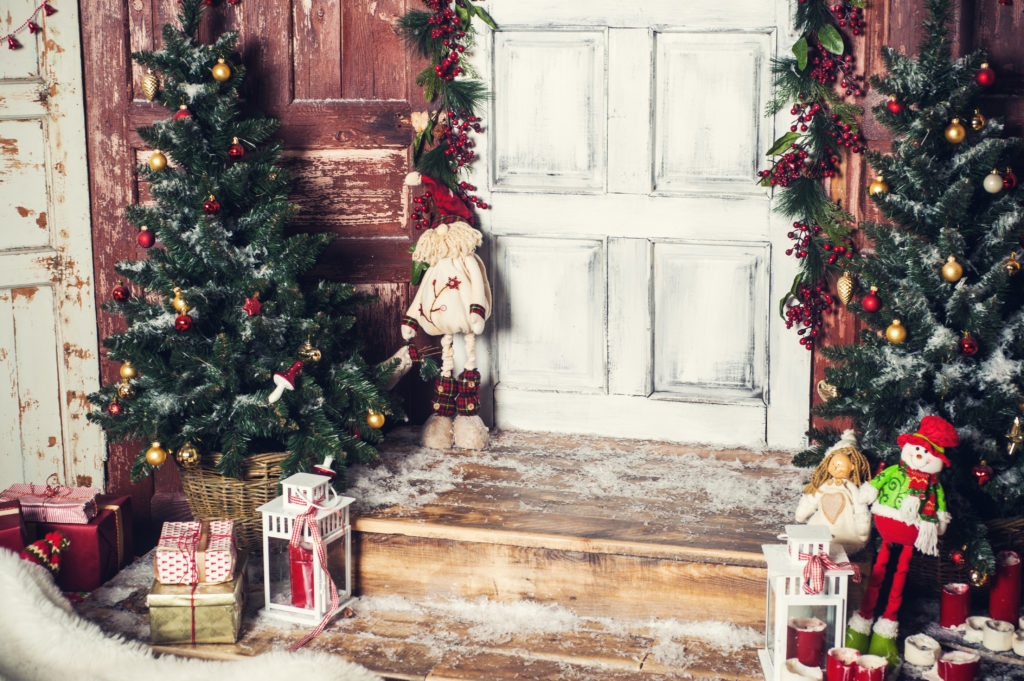 Holiday Outdoor Landscape Decorating Ideas